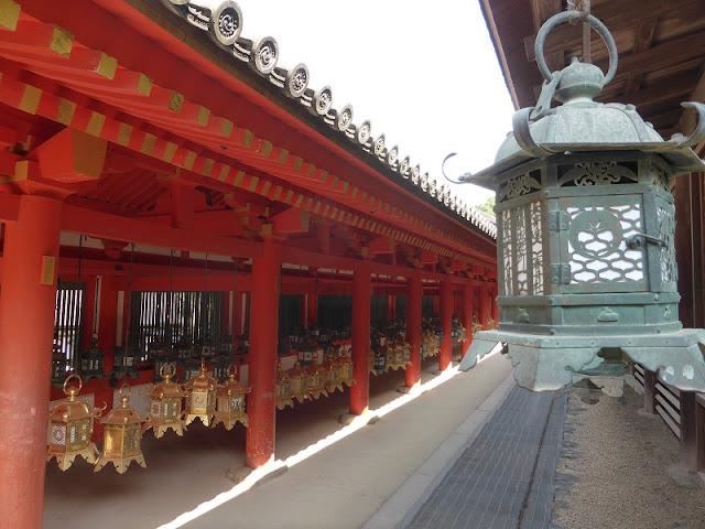 Linternas del templo Kasuga Taisha