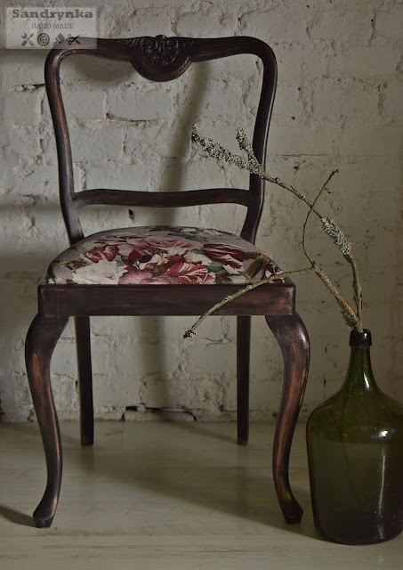 Elegancja Francja, czyli Metamorfoza Krzesła.