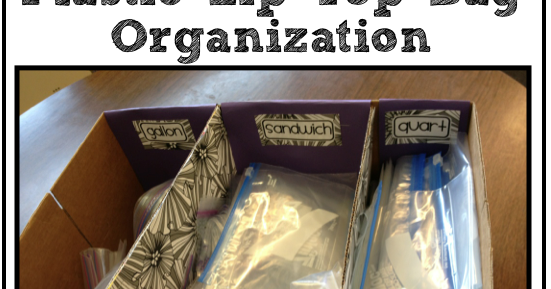 Organizing And Managing Ziploc Bags A Teacher Diy Project