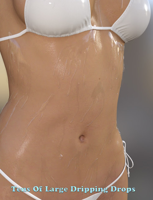 Drips and Drops for Genesis 3 Female