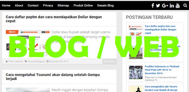 Cara membuat blog mulai awal sampai dengan mendapatkan jutaan Rupiah