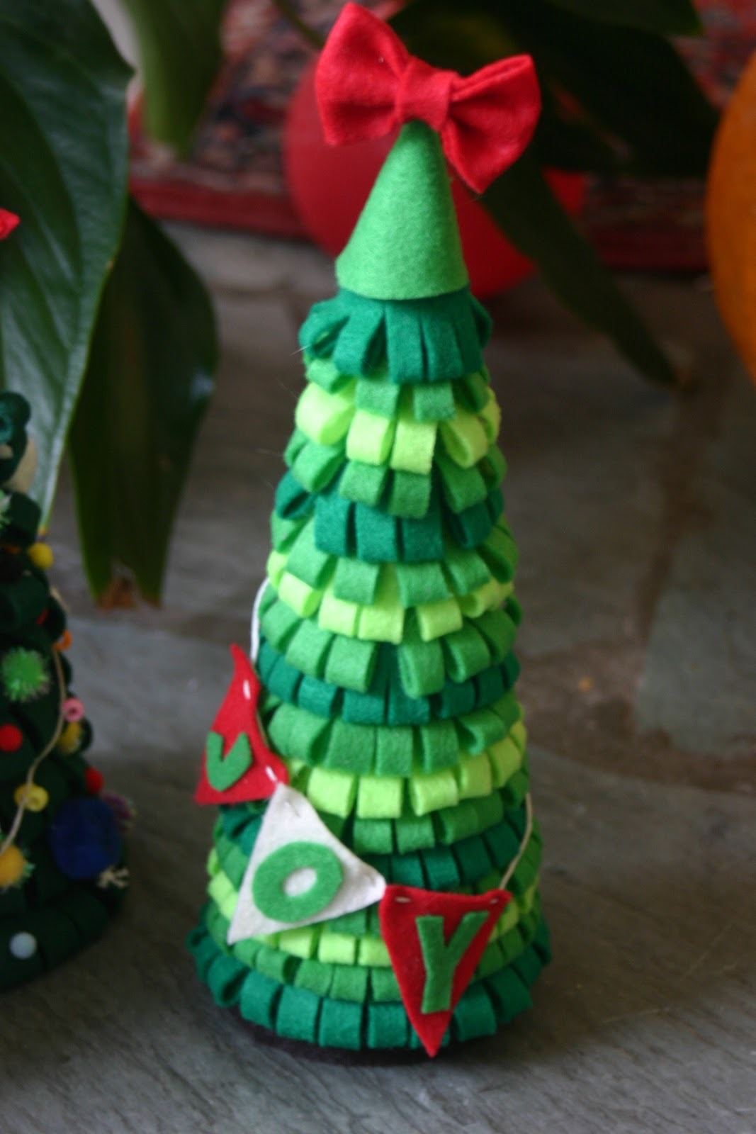 christmas tree felt decorations templates