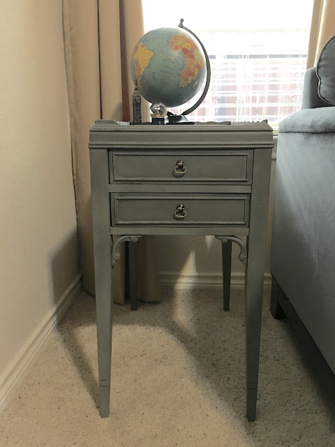 Feminine yet masculine piece for a boys playroom