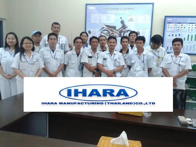 Operator Produksi Mesin di PT Ihara Manufacturing Indonesia