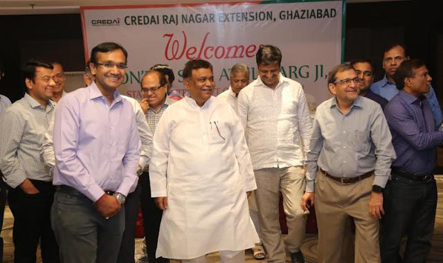 CREDAI RNE Meets Minister Mr.Atul Garg