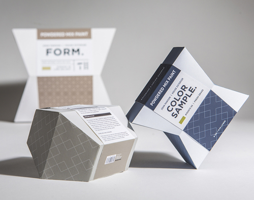 Trend Desain Logo Packaging 2016 - Geometric structures
