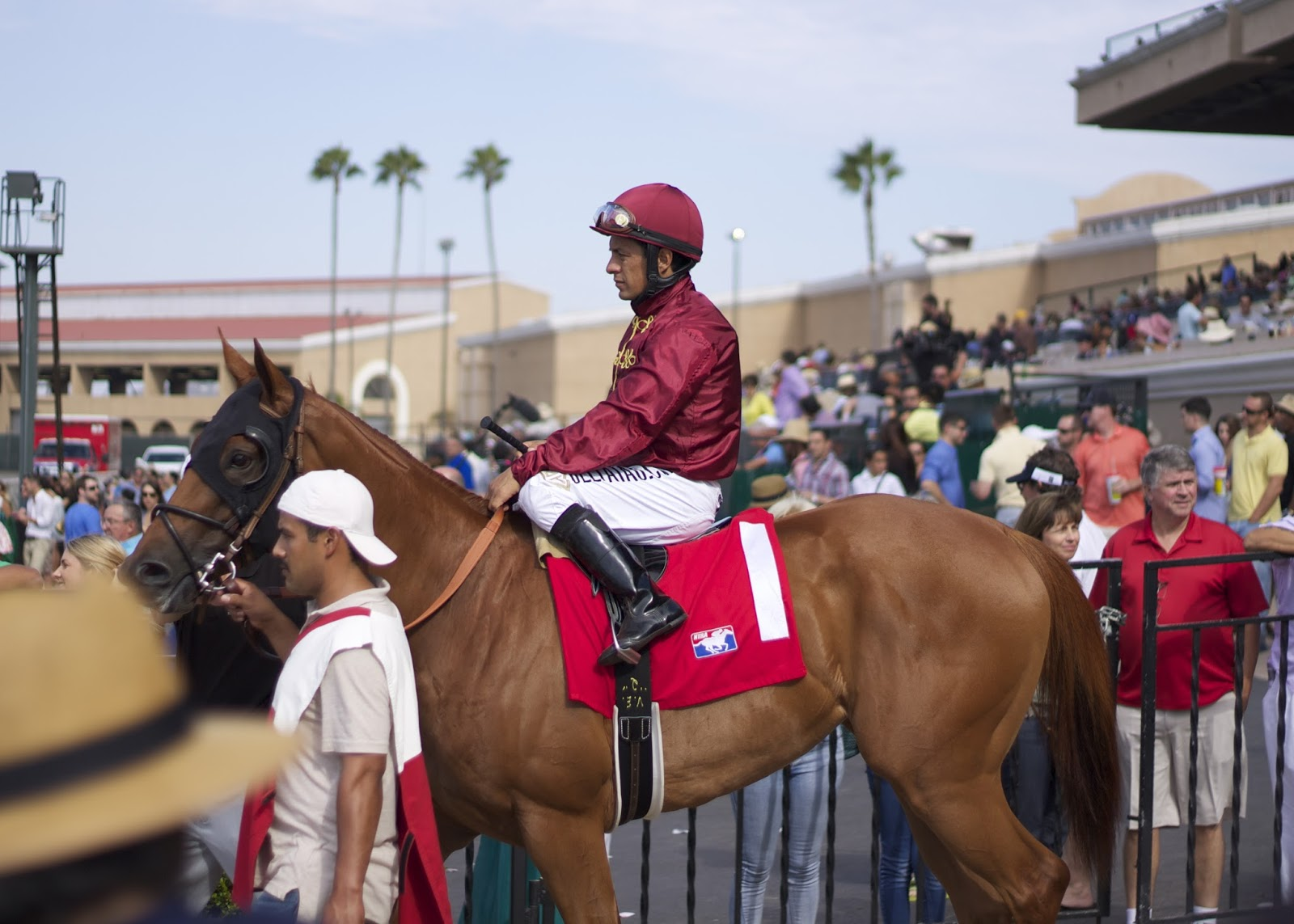 del mar racetrack jockey
