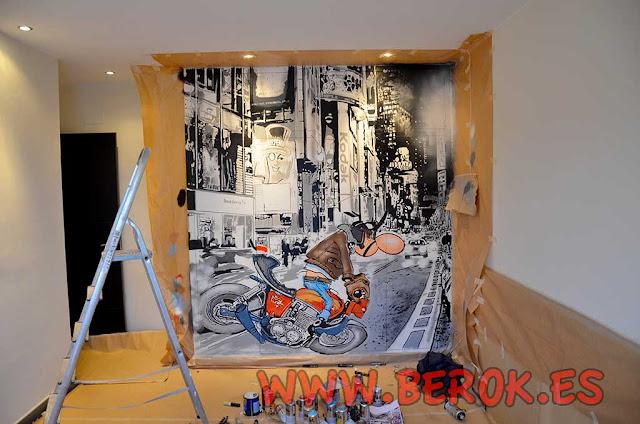 Graffiti armario empotrado