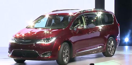 2018 Chrysler Pacifica Design Cabin Specs and Powertrain  Blog