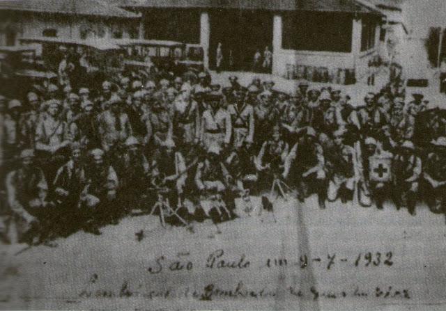 A revolução constitucionalista de 1932 e a Guarda Civil !