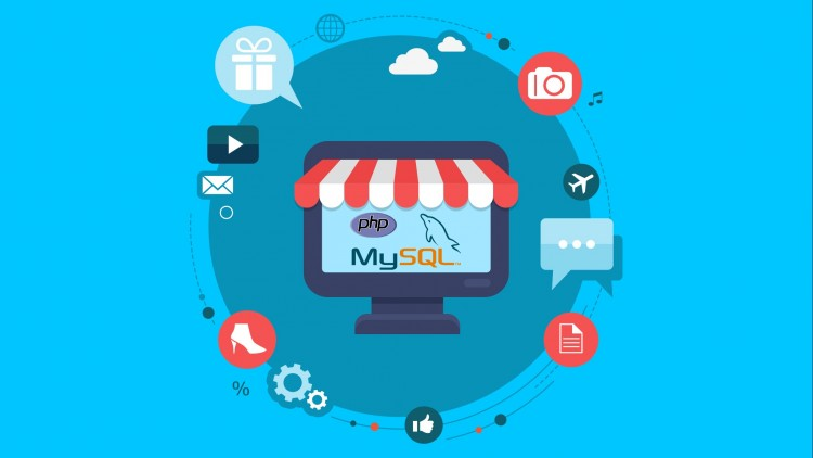 eCommerce Website in PHP & MySQLi (Urdu/Hindi) - udemy course