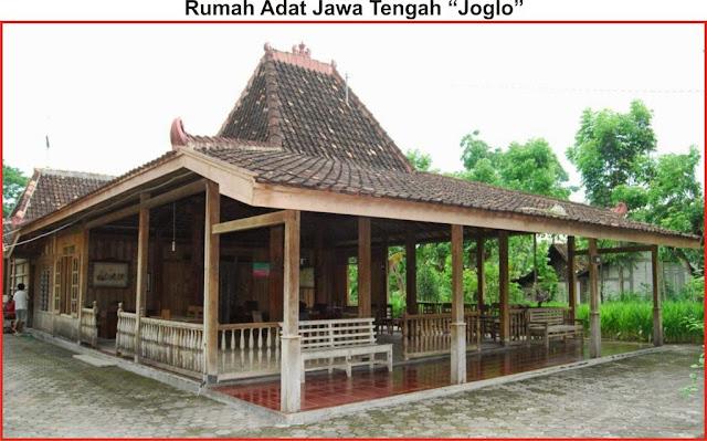 """gambar rumah adat jawa tengah """"Joglo"""""""
