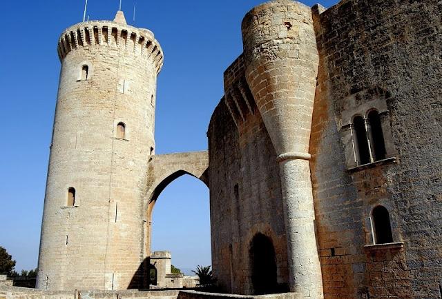 Castelo de Bellver em Palma de Maiorca