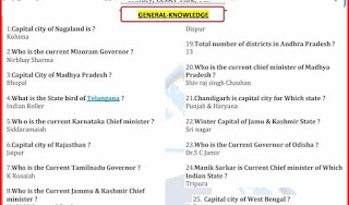 600+ General Knowledge Questions and Answers- Download PDF