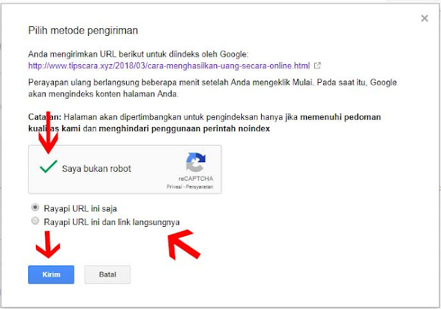 Screen Shoot Cara Menggunakan Fetch as Google 3 - Tips dan Cara