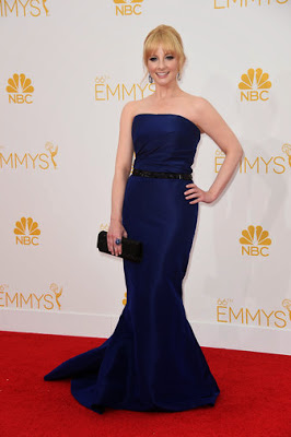 Melissa Rauch 66th Emmy Awards