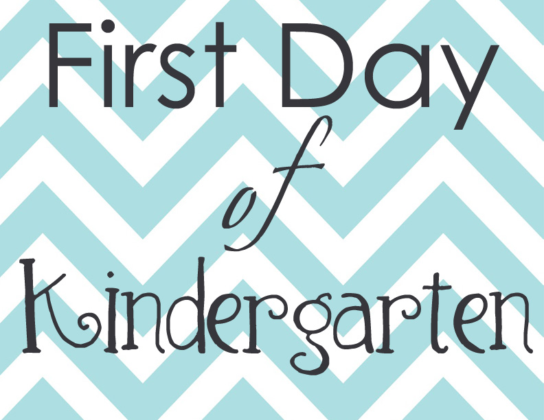 A Little Of This A Little Of That First Day Of School Printables