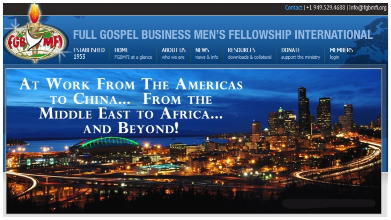 Full Gospel Business Men's Fellowship International (Website)