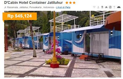 D'Cabin Hotel Container Jatiluhur *** mulai Rp 545.124/malam