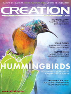 Creation Magazine Vol. 39 Issue No. 1 2017