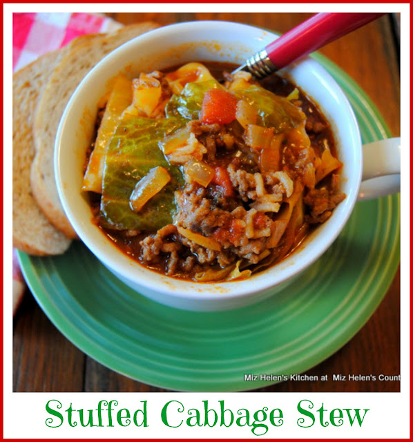 Stuffed Cabbage Stew at Miz Helen's Country Cottage