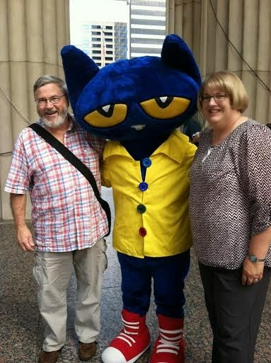 Pete the Cat at Southern Festival of Books (Nashville, TN)