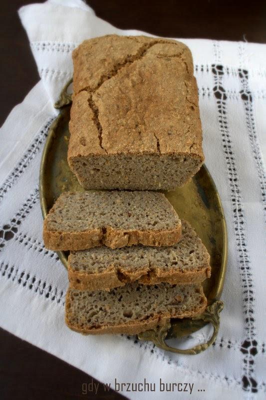 chleb gryczany na drożdżach