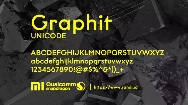 [Font MIUI] Graphit Unicode MTZ