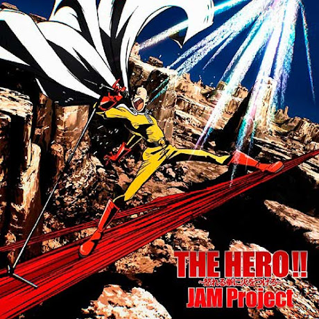Opening de One Punch Man The Hero Ikareru Kobushi ni Hi wo Tsukero letra y traduccion