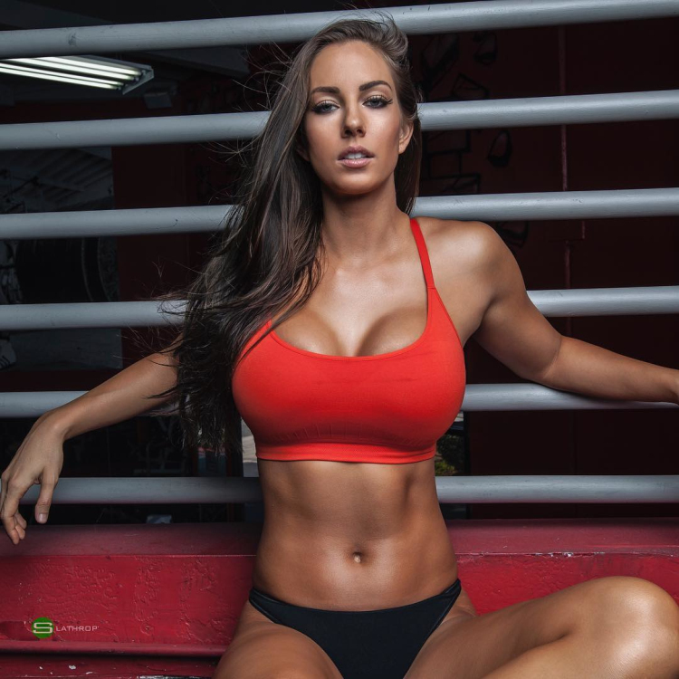 Janna Breslin the professional model, Nutritional Therapist, and personal trainer