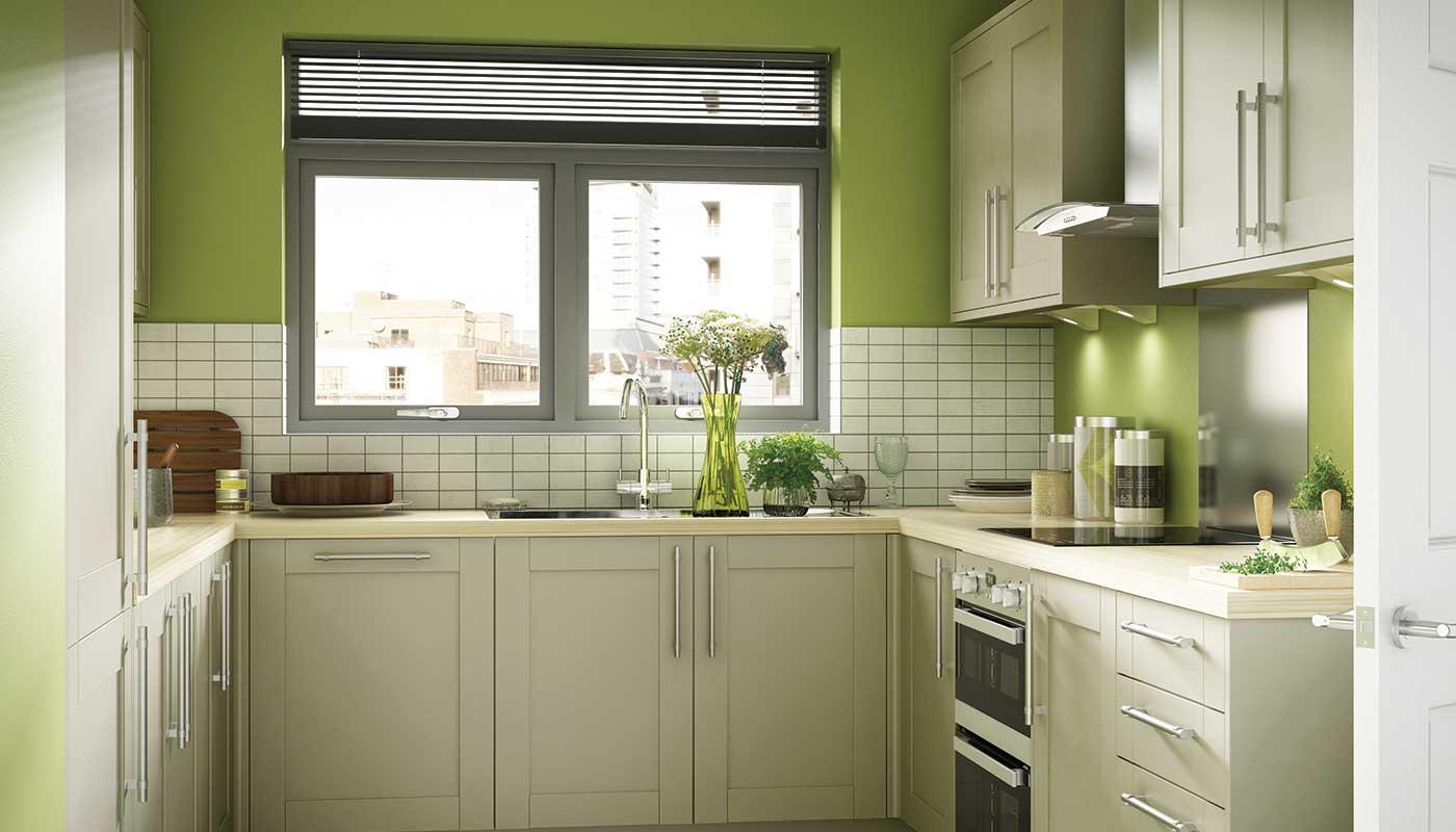 Green Theme Kitchen Ideas - Decor Units