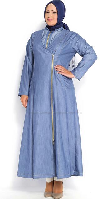 Tips Cara Memilih Baju Muslim Yang Pas Untuk Wanita Berbadan Gemuk
