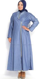 Model Baju Muslim Wanita Gemuk Trend Terbaru