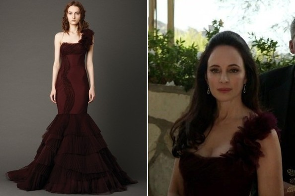 Madeleine Stowe in Vera Wang - Seen on 'Revenge'