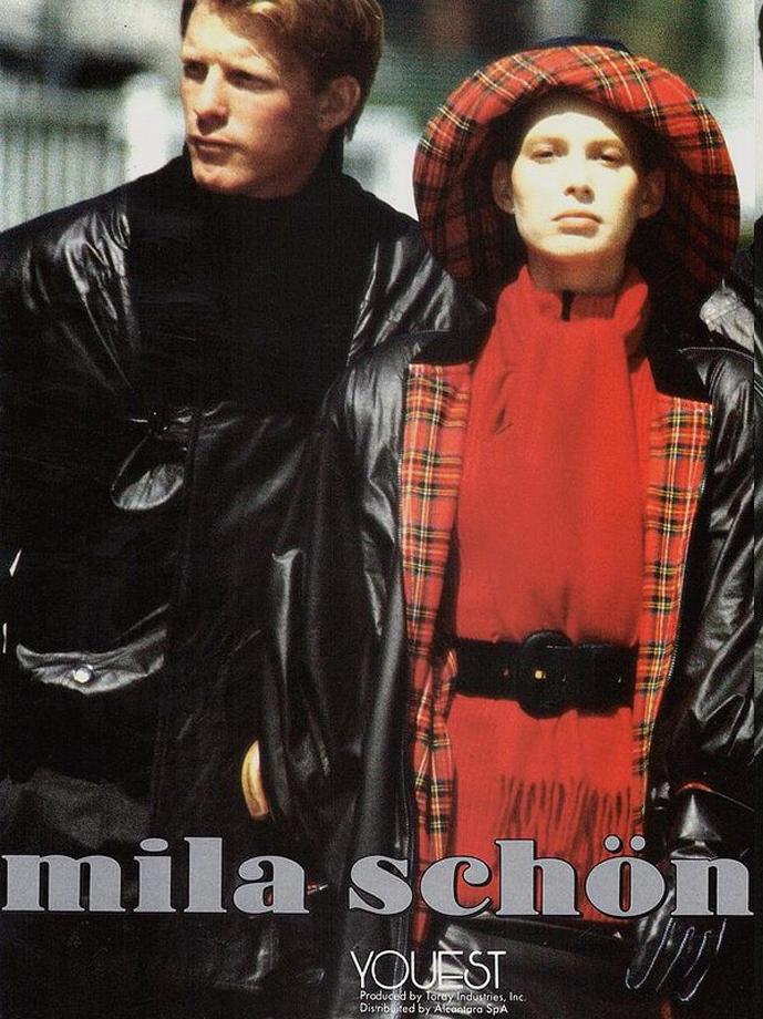 Mila Schon Fall/Winter 1987-1988 campaign