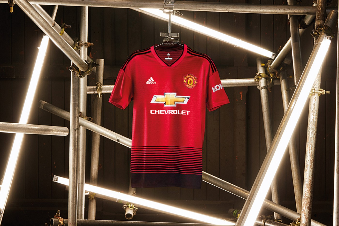 Desain Jersey Adidas Untuk Manchester United Musim 2018 2019