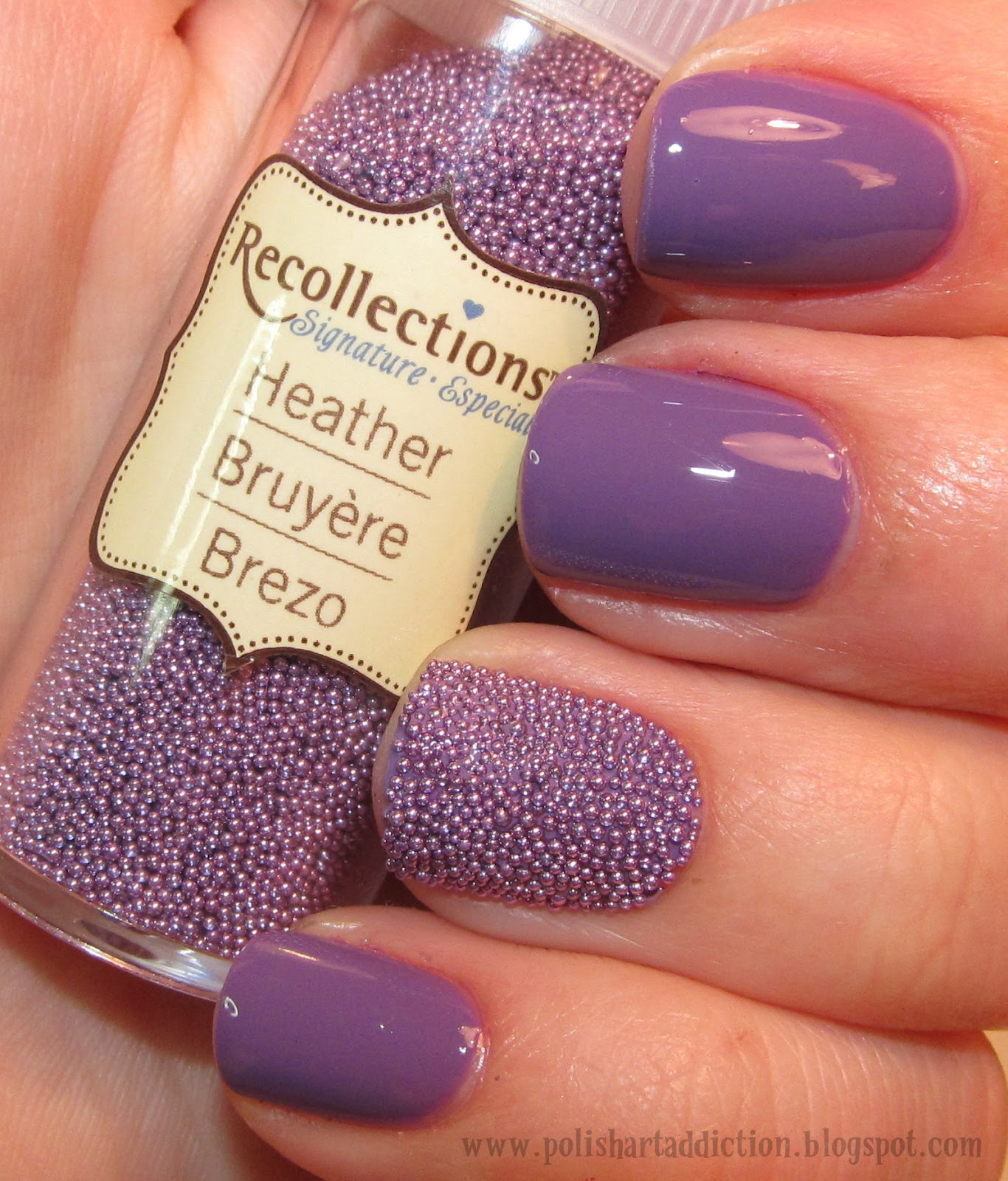 Novelty Nails - Microbeads/Fish Eggs