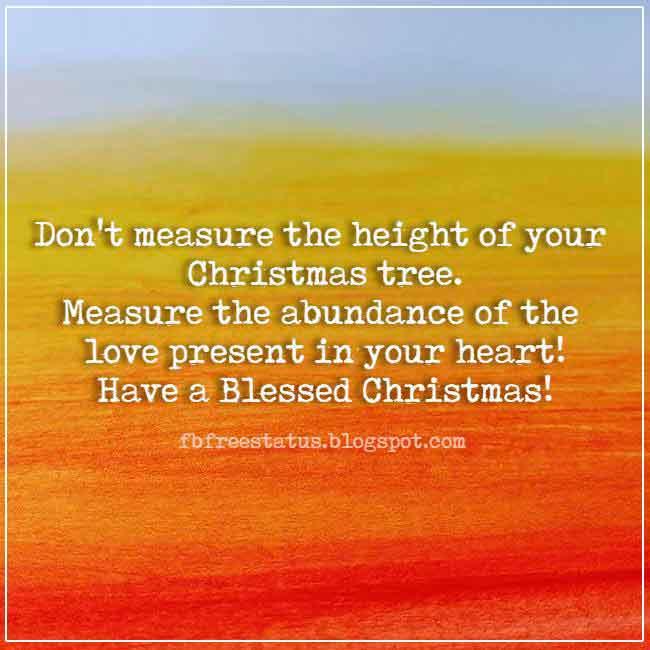 Christmas saying for cards and Christmas Image