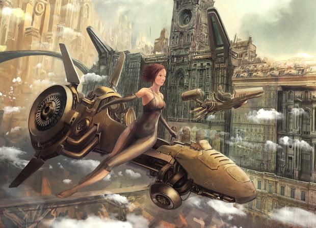 Steampunk Tribune Artistic Inspiration #4 Fairytale