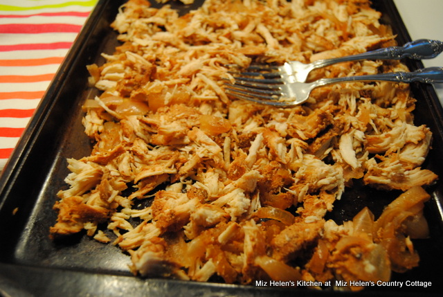 Slow Cooker Big Red Pulled Chicken at Miz Helen's Country Cottage