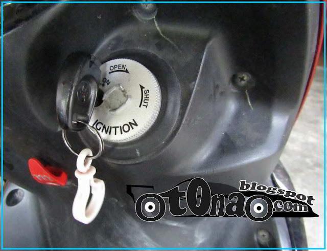 gantungan kunci motor jangan terlalu berat