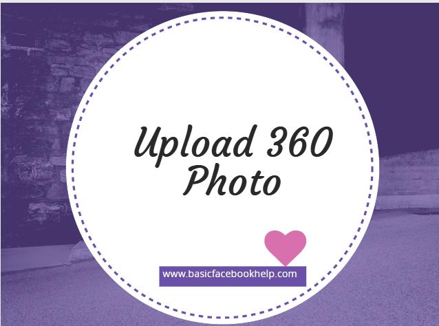 Upload 360 Photo