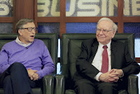 Bill Gates and Warren Buffett (Credit: Nati Harnik, AP) Click to Enlarge.