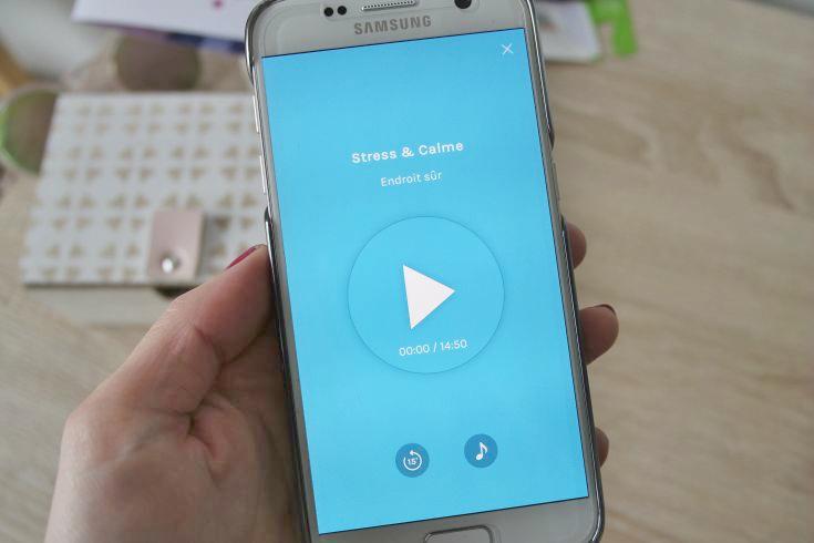 application de méditation Pause pour smartphone