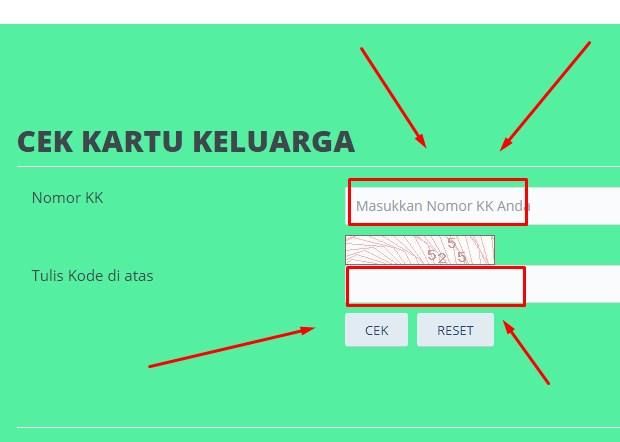 Cek Nomor KK Secara Online Kabupaten Pati Jawa Tengah 2