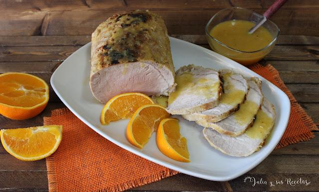 Lomo a la naranja. Julia y sus recetas