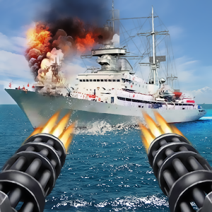 Download Game Navy Gunner Shoot War 3D Apk v1.0.2 (Mod Money)