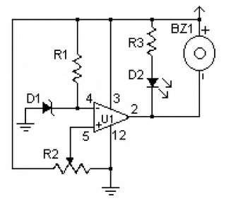 Free Electronic Circuit Collection: Low Voltage Monitor