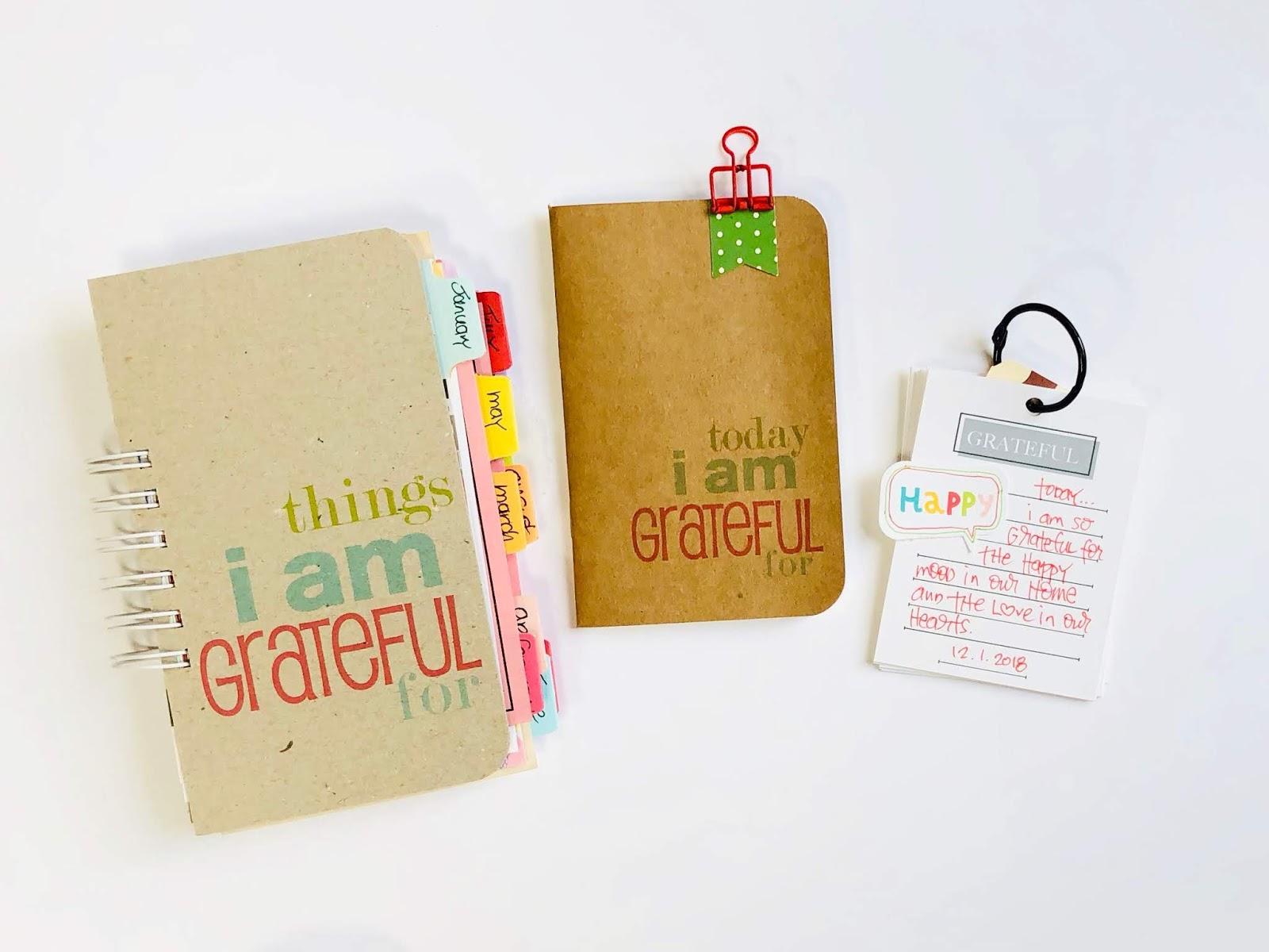 Using Three Gratitude Journals In One Week