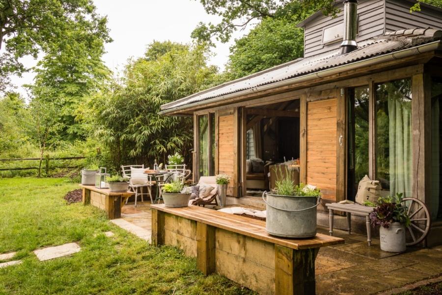 Domek letniskowy na wsi, wystrój wnętrz, wnętrza, urządzanie mieszkania, dom, home decor, dekoracje, aranżacje, styl wiejski, country style, ogród, garden